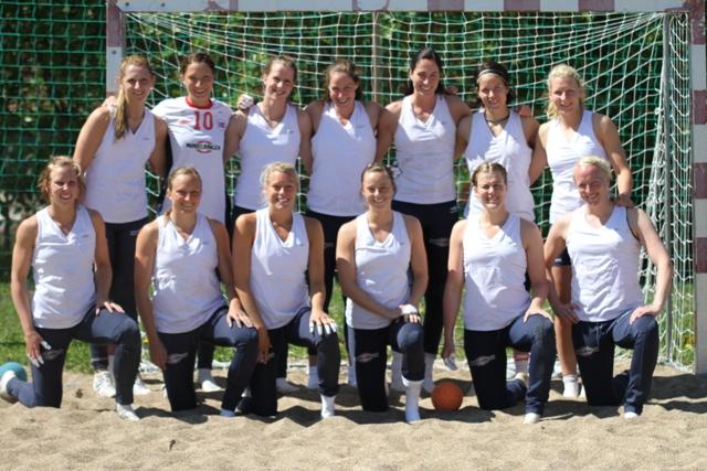 Norges landslag i strandhåndball