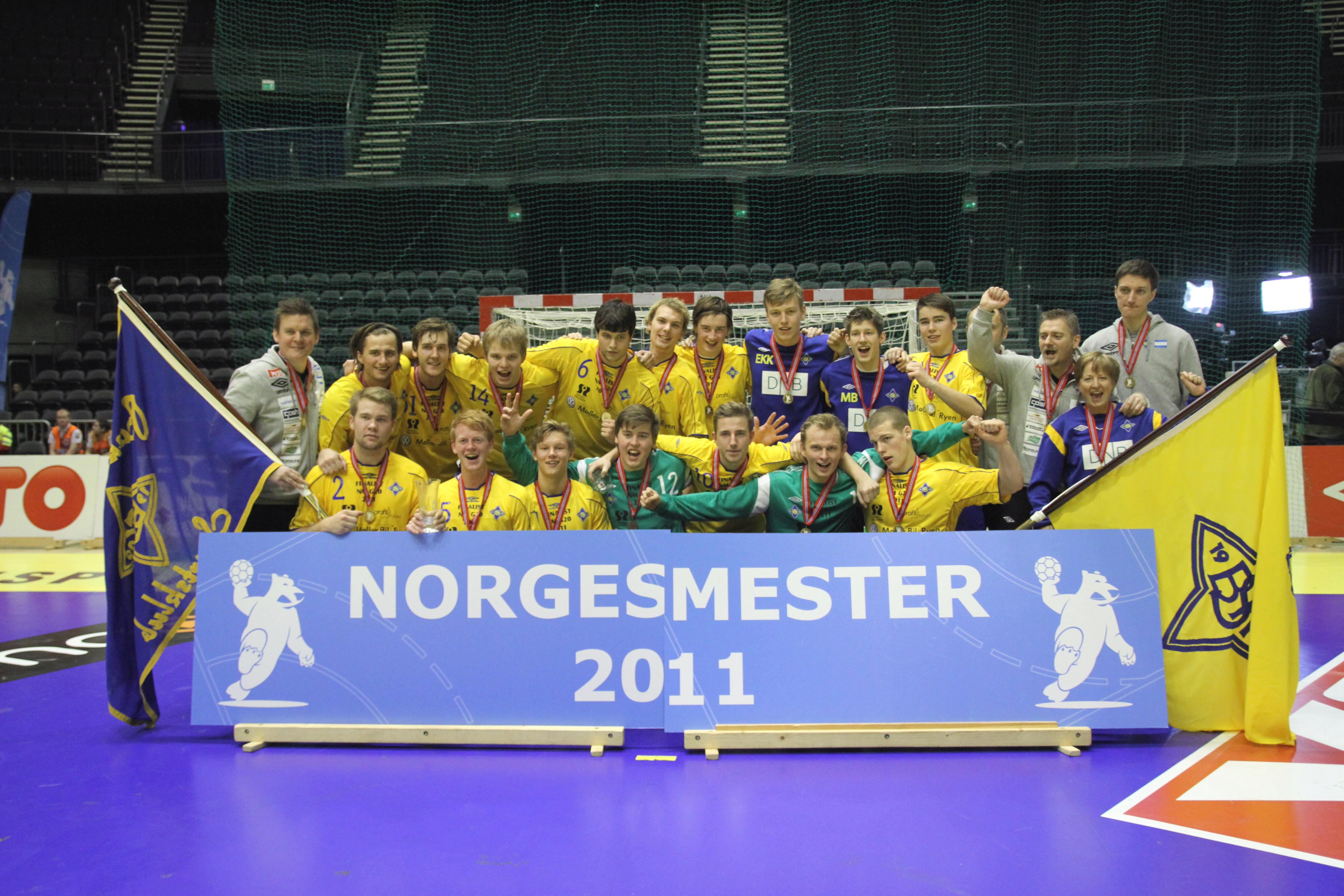 Bækkelagets juniorer ble Norgesmester i 2011 - kan de nå ha noe på gang på seniorsiden? | Foto: Bjørn Kenneth Muggerud
