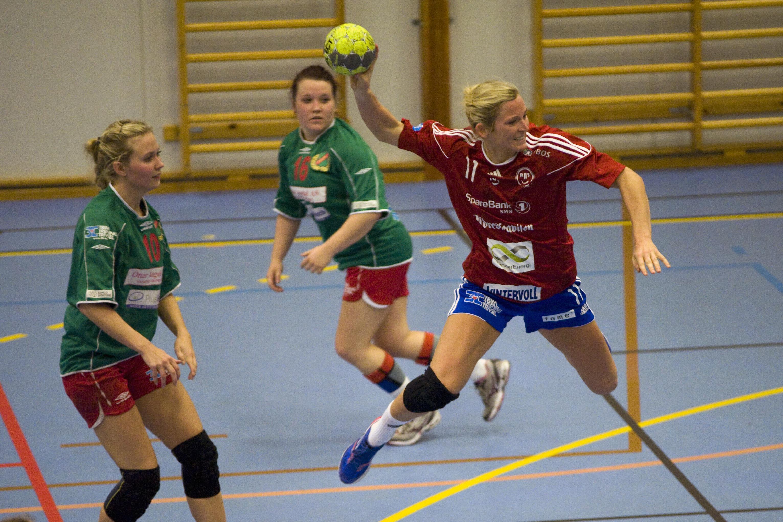 Ida Alstad, Heimdal - Byåsen 2. runde cupen.