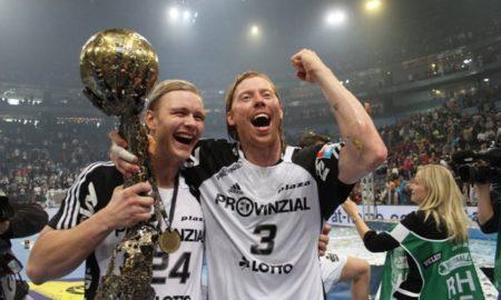 Børge Lund fra 2010 hvor han vant Final 4 med THW Kiel