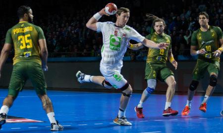 Sander Sagosen og håndballgutta storspilte da de løp over Brasil i VM i Frankrike 2017 | Foto: Bjørn Kenneth Muggerud