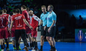 Mads Hansen og Martin Gjeding er med blant de seks beste parene i VM
