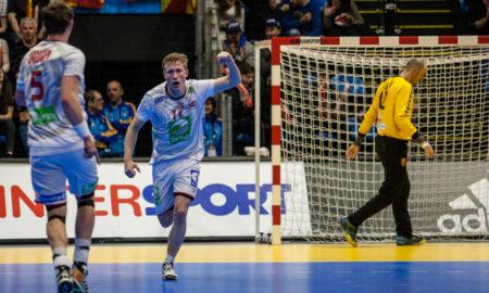 Magnus Jøndal var med på å sikre seieren over Makedonia med sine 6 mål. | Foto: Bjørn Kenneth Muggerud