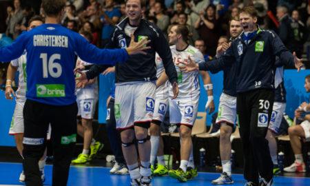 Norge slo Makedonia 34-24 og avanserte til kvartfinale i VM Frankrike 2017 | Foto: Bjørn Kenneth Muggerud