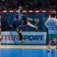 Kentin Mahe, Frankrike, satte fire mål på fire skudd i kampen mot Slovenia i semifinalen under VM Frankrike 2017 | Foto: Bjørn Kenneth Muggerud