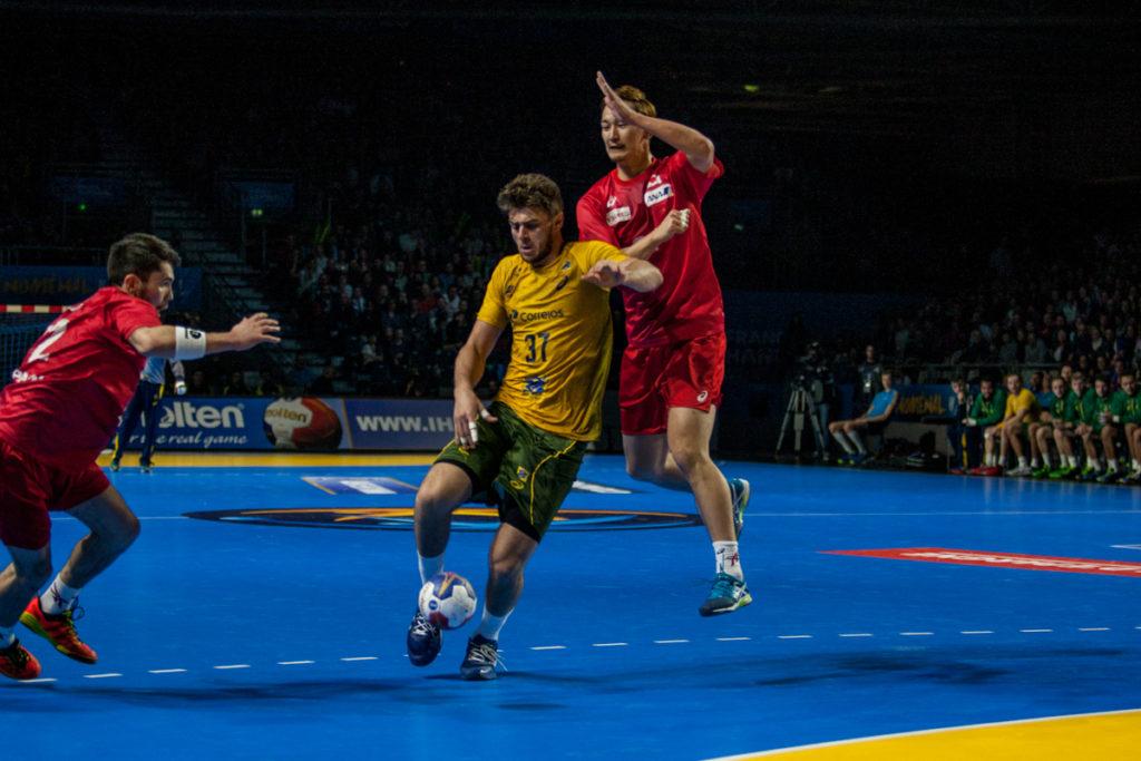 I en tett kamp var det til slutt Brasil som tok to viktige poeng mot Japan. | Foto: Bjørn Kenneth Muggerud