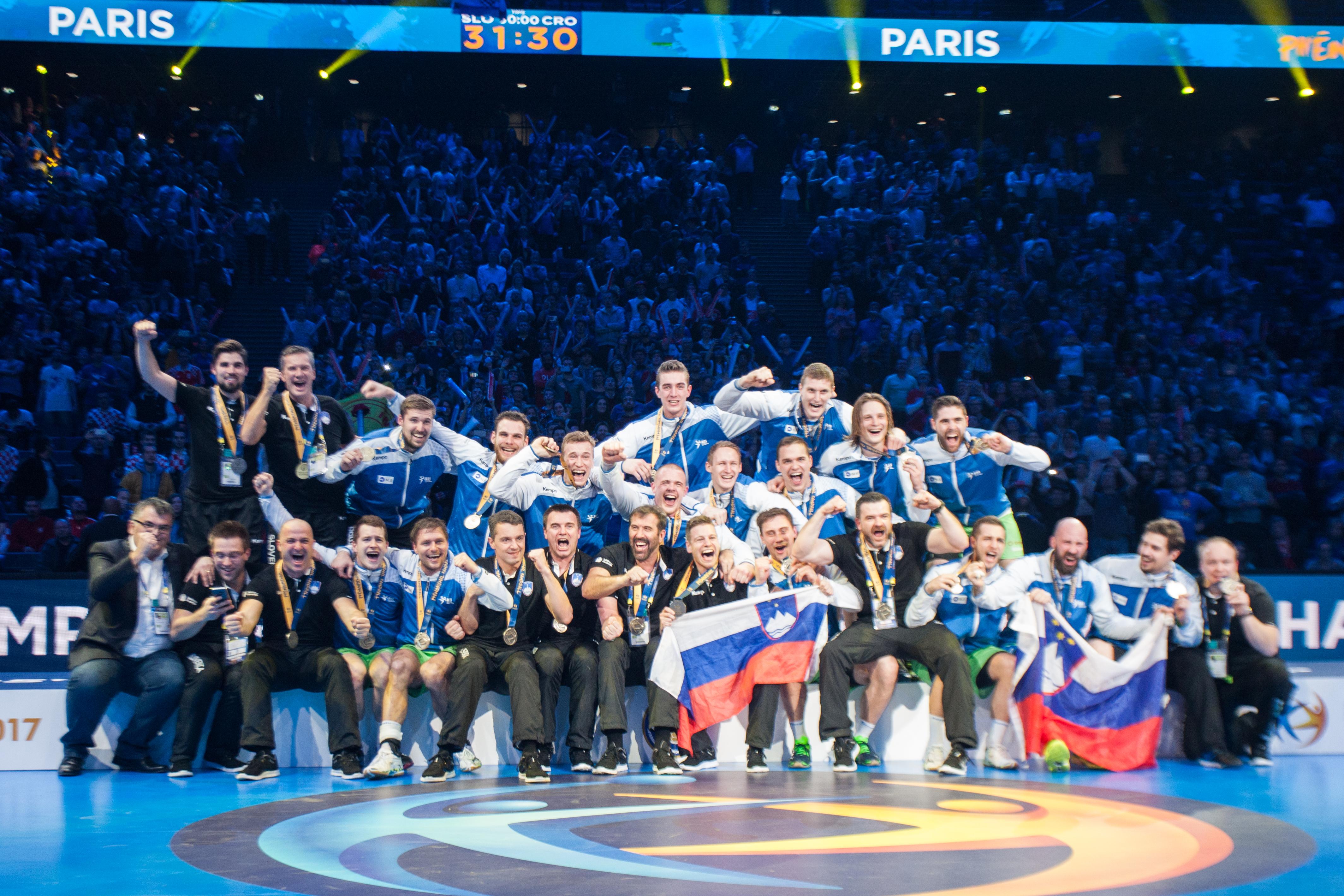 Slovenia vant bronsefinalen 31-30 mot Kroatia under VM Frankrike 2017 | Foto: Bjørn Kenneth Muggerud