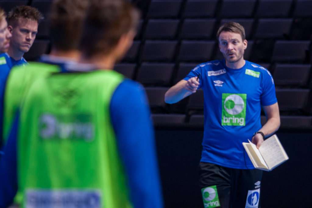 Christian Berge på trening | Foto: Bjørn Kenneth Muggerud