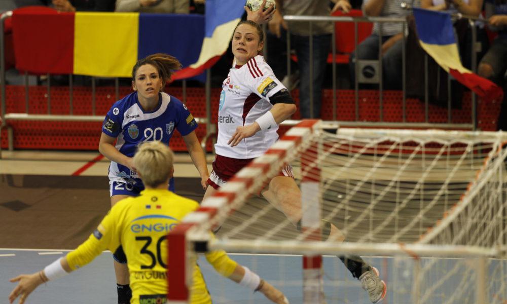 Thea Mørk ble kåret til banens beste da Larvik HK vant over CSM Bucuresti i Champions League | Yngvar Brekke
