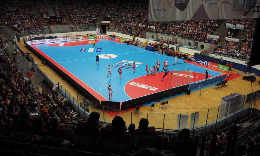 Norsk håndball har ikke nok spilleflater   Foto: Svein-Ivar Pedersen