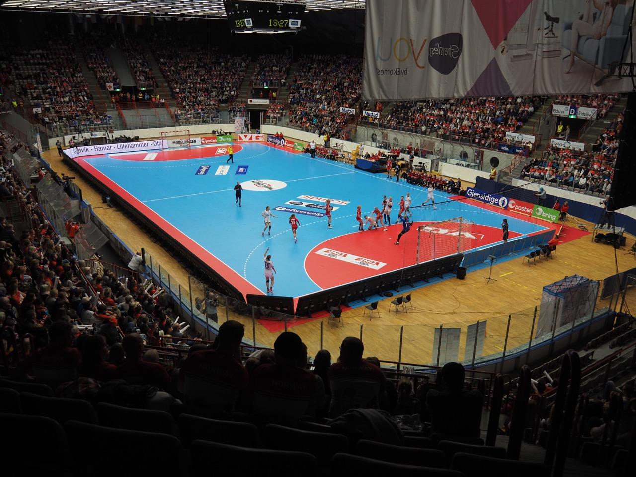 Norsk håndball har ikke nok spilleflater | Foto: Svein-Ivar Pedersen