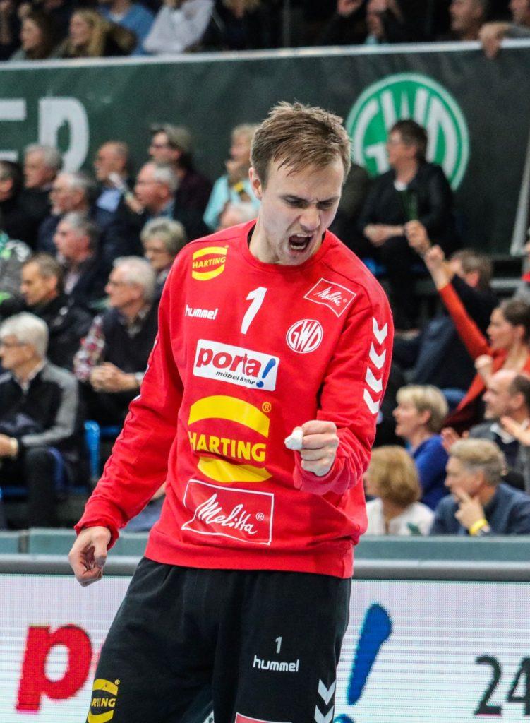 Espen Christensen jubler | Foto: Beate Oma Dahle
